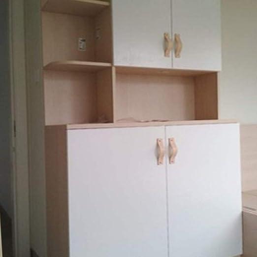 FLAMEER 15x Nordic Wardrobe Cabinet Door Handle Soft PU Leather Door Handles for Cupboard Drawer Pull Knobs Furniture Hardware