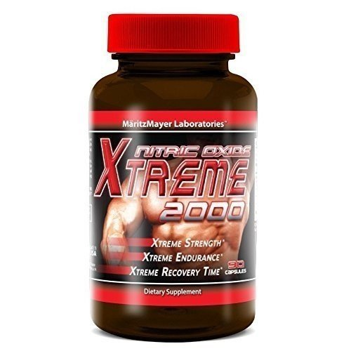 Maritzmayer Lab Nitric Oxide Xtreme Muscle Growth Supplement 90 Capsules Per Bottle