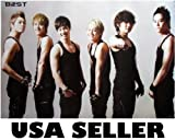 B2ST in tank tops POSTER 34 x 23.5 B$ST BEAST Korean Kpop boy band (sent FROM USA in PVC pipe)