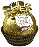 A celebratory larger-than-life version of the iconic market-leading Ferrero Rocher - a delicious Hollow shell with two sealed Ferrero Rocher inside