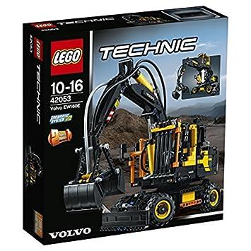Lego Technic 42053 Volvo Ew160e Bauspielzeug Amazonde Spielzeug