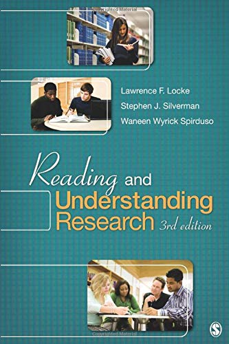Reading and Understanding Research (NULL)