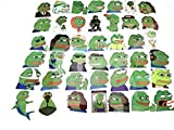 Pepe The Frog 42 PC Sticker Decal Set