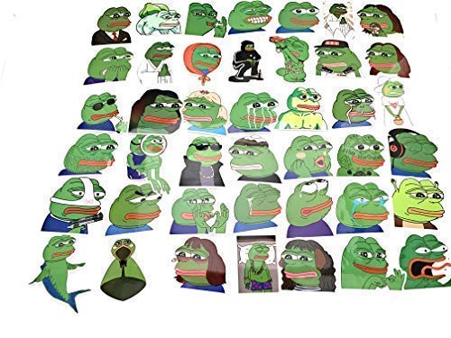 Pepe The Frog 42 PC Sticker Decal Set by Pepe (Image #4)