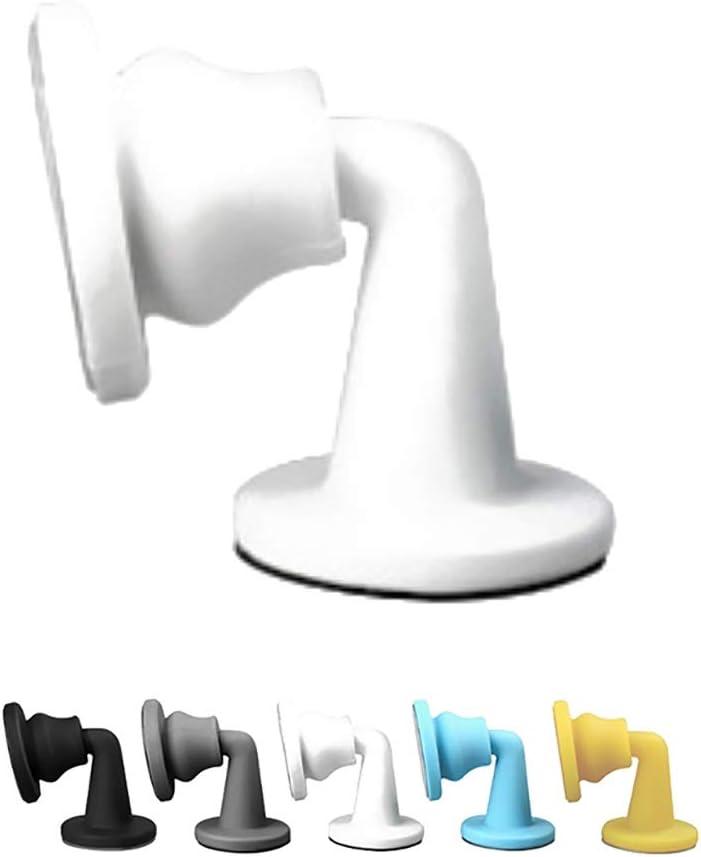 Color : A, Size : 2 PCS 5 PCS ,Door Top,Full Silicone Anti-Collision Silent Door Touch,Door Suction,Toilet Anti-Collision Device,5 Colors Guoguocy Door Stops Door Stop