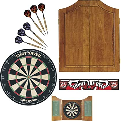 Image of Cabinets Dart World 49126 Early American Dart Cabinet Kit