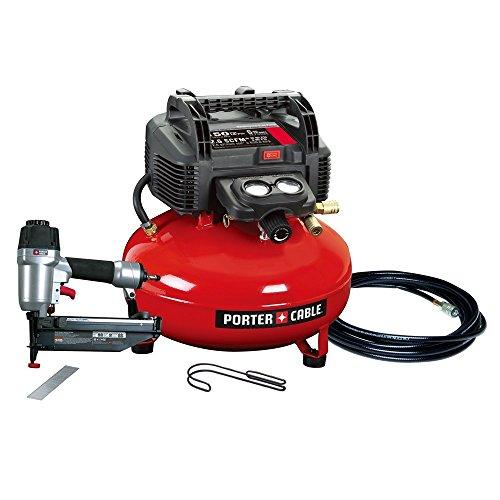 PORTER CABLE PCFP72671 Finish Nailer/Compressor Combo Kit