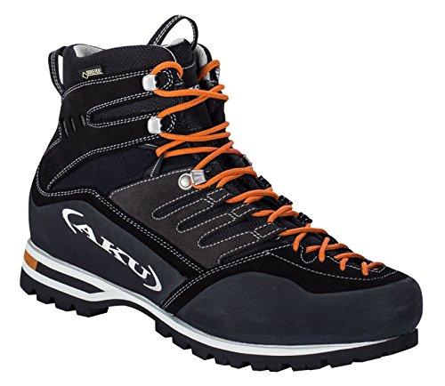 AKU Viaz GTX - Schwarz - EU 41 / UK 7 / US 7.5 - Leichter wasserdichter Gore-Tex® Leder Wanderschuh
