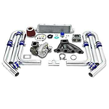 High Performance Upgrade T04E T3 T25 9pc Turbo Kit - 4A-GE Engine