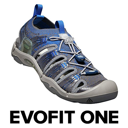 Keen Evofit One, Sandali da Arrampicata Uomo Blu (Skydiver/Steel Grey 0)