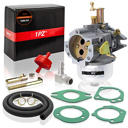 1PZ UMK-201 Carburetor for Kohler K321 and K341 Cast Iron Engine 14hp 16hp John Deer Tractor Engine Carb (Extra Thick Gasket)