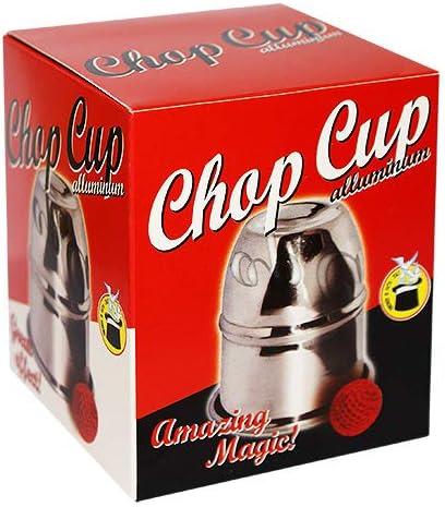 Close-Up Magic Giochi di Magia SOLOMAGIA Chop Cup in Alluminio