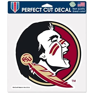 Wincraft NCAA Official Florida State University Seminoles 8 x 8 Perfect Cut Decal : Sports & Outdoors