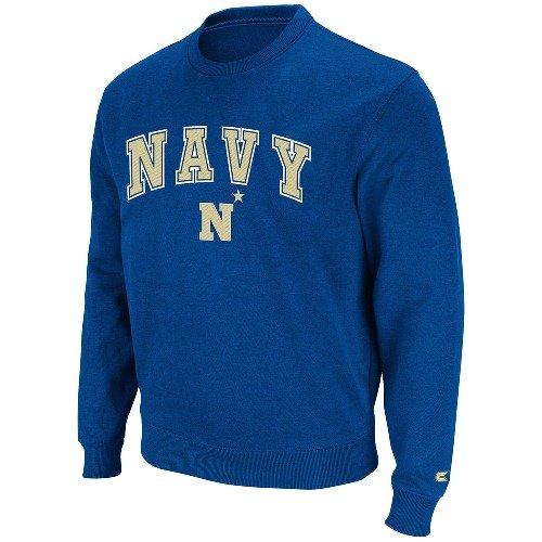 Navy 2011 Automatic Fleece Crew Sweatshirt - (Automatic Pullover Hoody Sweatshirt)