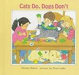 Cats Do, Dogs Don't, Norma Simon, 0807511021