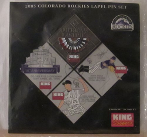 2005 COLORADO ROCKIES COLLECTIBLE LAPEL PIN - CELEBRATES AMERICAS PASTIME (PIN #4 - SEPT. 20, 2005) ()