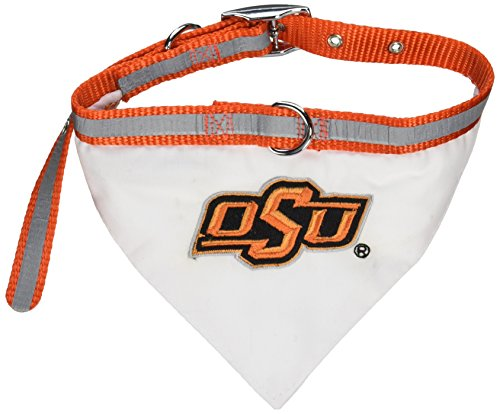 (Mirage Pet Products Oklahoma State Cowboys Bandana for Dogs and Cats, Medium)