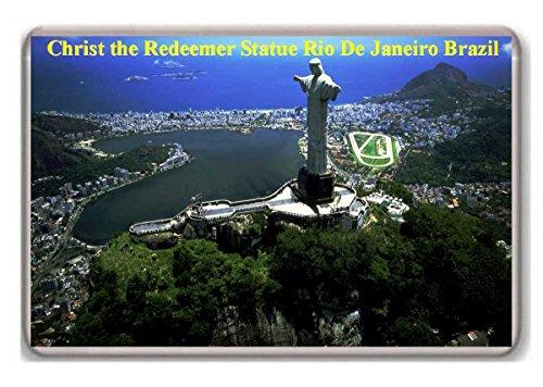 Brazil, Rio De Janeiro, Christ the Redeemer Statue/fridge magnet..!!! (Janeiro Statue Rio De)