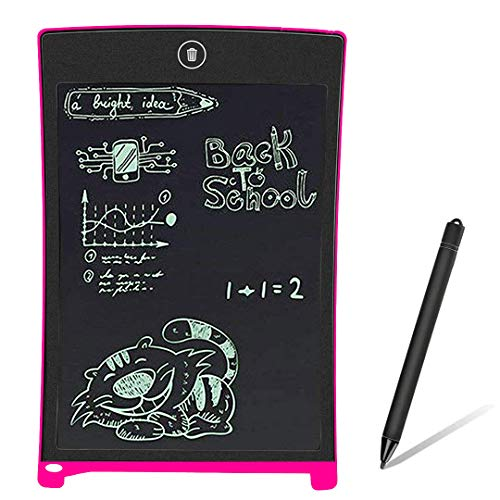 BONBON LCD Writing Tablet Electronics Writing Pad Doodle Board Handwriting Drawing Pad Gift for Kids Adults at Home,School and Office-Pink