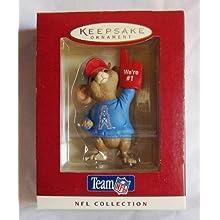Hallmark Oilers Team NFL Collection Keepsake Ornament QSR6424