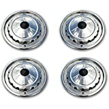 Eckler's Premier Quality Products 57-243112 Chevy Wheel Cover Set, Full, Bel Air,