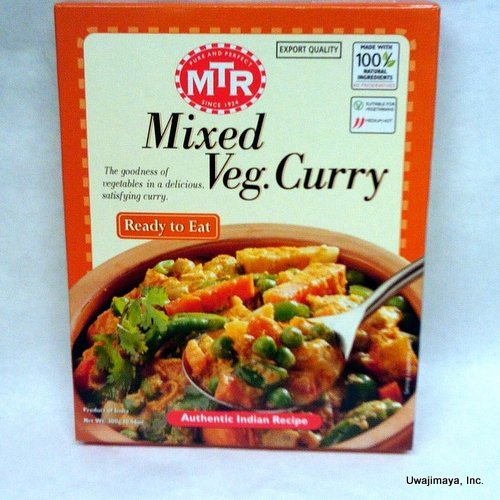 Mtr   Mixed Veg  Curry  300G