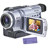 "Sony DCRTRV340 Digital8 Camcorder w/ 2.5"" LCD USB Streaming, & Memory Stick capability (Discontinued by Manufacturer)"