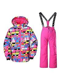 GS SNOWING Ski Jacket Snow Insulated Suit Windproof & Waterproof Girls