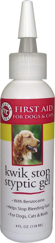 Kwik-Stop Liquid Miracle Care Gel for Dogs, Cats & Birds, 4 oz Bottle by Kwik-Stop Liquid