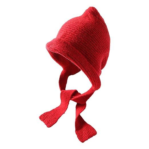 Dosige Sombrero de Punto para Mujer otoño Invierno Hecho en la ...