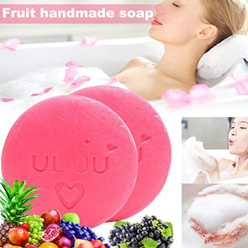 AIUSD Clearance , Instant Whitening Soap Moisturizing Skin Care Oil Control Deep Cleaning