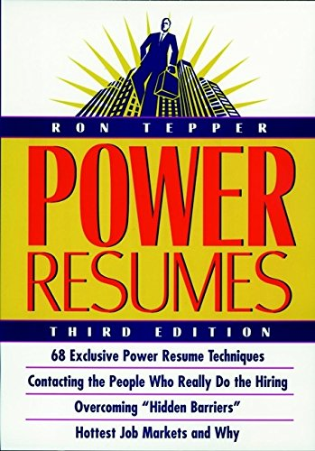 amazon power resumes ron tepper job hunting