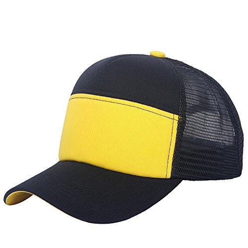 oriental spring - Gorra de béisbol - para hombre Navy/Yellow
