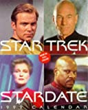 STAR TREK STARDATE 1999 CALENDAR
