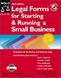 img - for Legal Forms for Starting and Running a Small Business (2nd ed.) book / textbook / text book