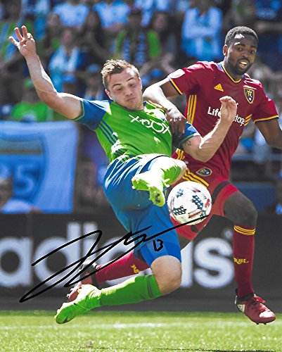 Jordan Morris, Seattle Sounders FC, Signed, Autographed, 8X10 Photo, a Coa with the Proof Photo of Jordan Signing Will Be Included/,