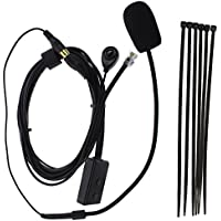 TENQ 6 Pin Finger PTT Hands-free Microphone for Car Radio Yaesu FT7800 FT2800 FT8800 FT8900 FT1802 FT1807