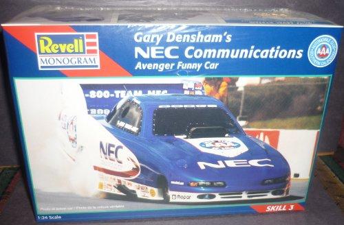 #7652 Revell /Monogram Gary Densham's NEC Communications Avenger Funny Car 1/24 Scale Plastic Model Kit (Best Model Of Communication)