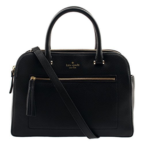 Kate Spade New York Kalen Chester Street Satchel Handbag (Black) (Outlet Chester Stores)