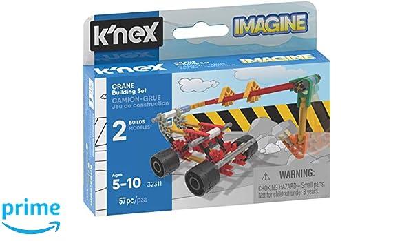 Knex 35460 Imagine - Juego de construcción de camión grúa, Kit de ...