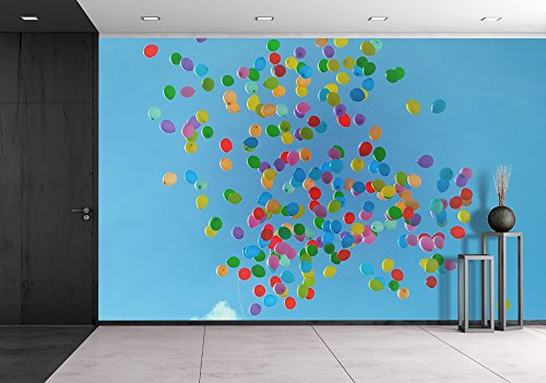 Floating Balloons in the Air