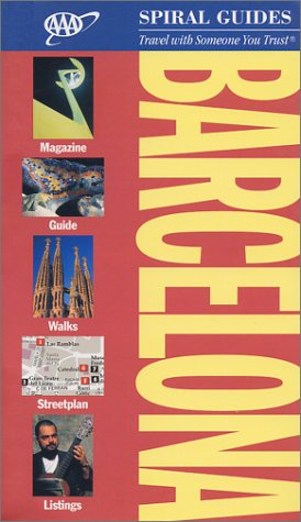 AAA Spiral Guide to Barcelona: 2002 Edition (AAA Spiral Guides) -