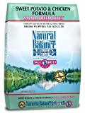 Natural Balance L.I.D. Limited Ingredient Diets Sweet Potato and Chicken Small Breed Bites Formula for Dogs, 12-1/2-Pound Bag, My Pet Supplies