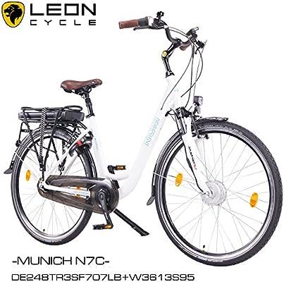 NCM Munich N7C - Bicicleta eléctrica con freno de contrapedal ...