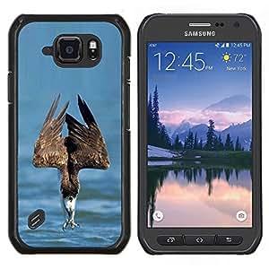 Stuss Case / Funda Carcasa protectora - Summer Sea proie Oiseau - Samsung Galaxy S6Active Active G890A