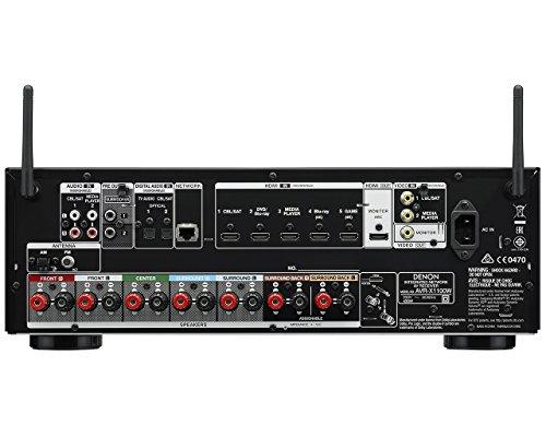 amazon com denon avr x1100w 7 2 channel full 4k ultra hd av rh amazon com Denon AVR X2100w Denon Avr- X1100w In-Command