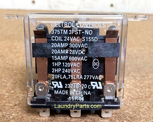 H 70210901P HUEBSCH/ SQUEED QUEEN DRYER RELAY, MOTOR START Alliance