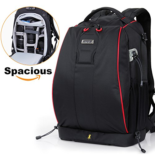 Lifewit DSLR Camera Backpack Bag Anti-theft Water Resistant