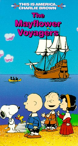 Price comparison product image The Mayflower Voyagers (This Is America, Charlie Brown) [VHS]