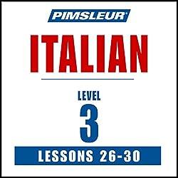 Italian Level 3 Lessons 26-30